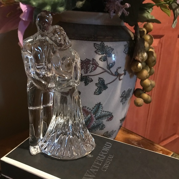 Waterford Crystal Other Wedding Couple Crystal Sculpture Poshmark